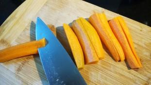4-Corte de zanahorias