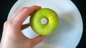 OASIS URBANO BA, Snack de Manzana Verde y Pasta de Maní 01