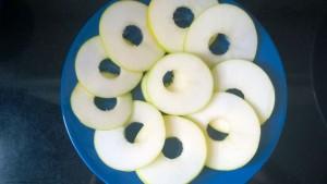 OASIS URBANO BA, Snack de Manzana Verde y Pasta de Maní 02