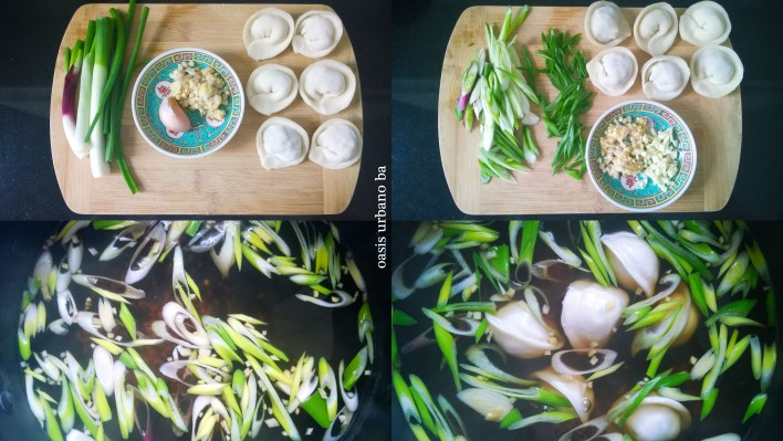 Oasis Urbano BA, Sopa de mandu con caldo de shiitake 01