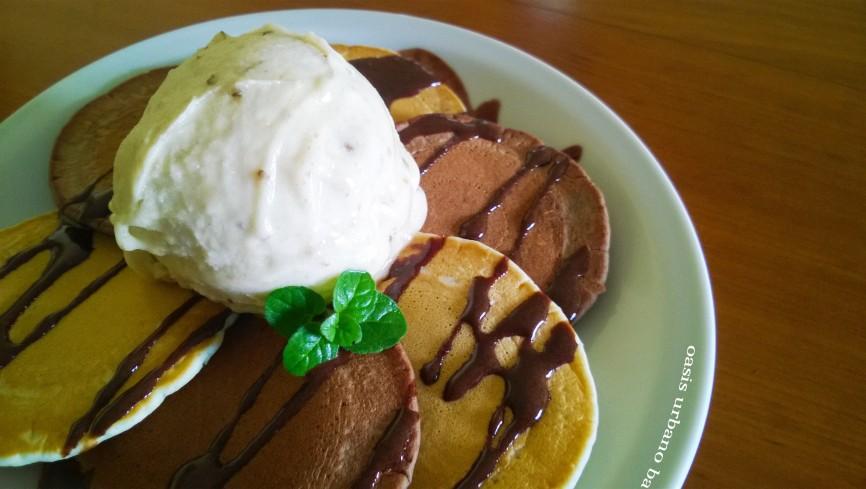 Pancakes de festejo