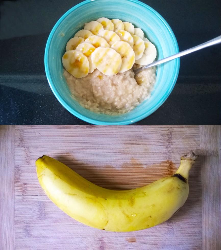 Oasis Urbano BA, Porridge-gachas maní banana 01
