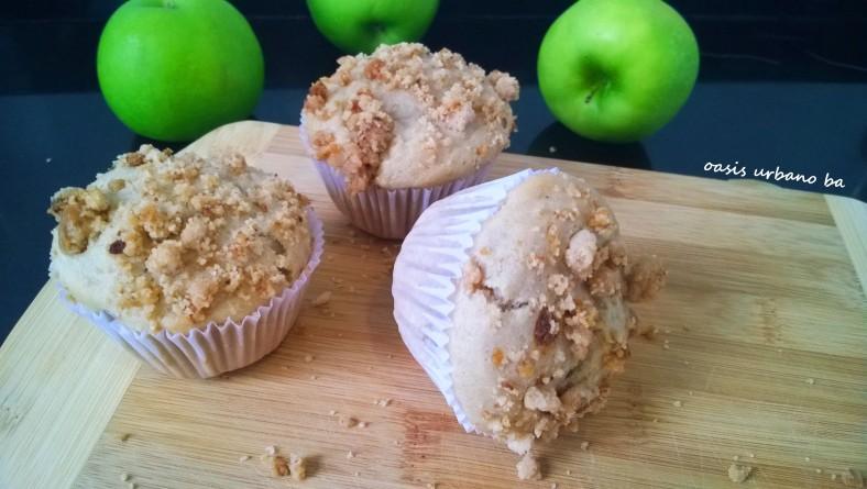 Oasis Urbano BA, Muffins de manzana 00