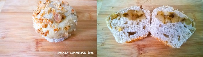 Oasis Urbano BA, Muffins de manzana 06