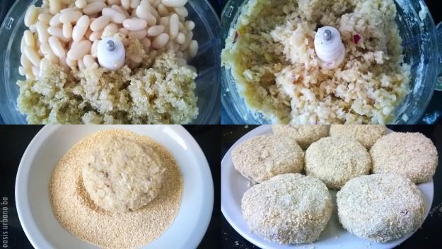 Oasis Urbano BA, Hamburguesas legumbres y quinoa 03
